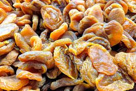 Aprikosen säuerlich, getrocknet