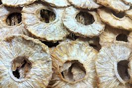 Ananasringe Natur getrocknet