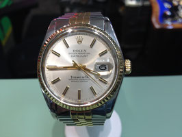 ROLEX / TIFFANY & CO. DATEJUST STAINLESS/18K GOLD