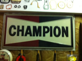 Champion Spark Plug Sign From 1967