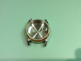 3135 CASE-CRYSTAI-18K GOLD BEZEL