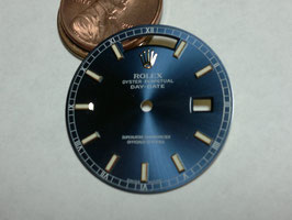 Mans Day-Date dial with luminess markers