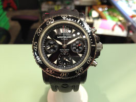 MONTBLANC  FLYBACK  BIG DATE CHRONOGRAPH AUTOMATIC