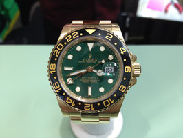 ROLEX GMT 18K SOLID GOLD