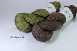 Garnset Menja Brauner Bär/ Olive
