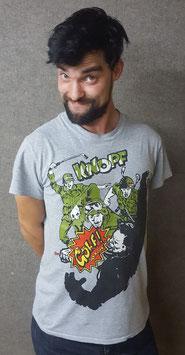 "KNOPF Shirt ""Golf ist Krieg"""