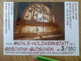 Gutschein von Michls-Holzwerkstatt