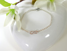 Infinity Armband nude - mini