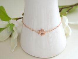Armband oder Fußkette in rosegold vergoldet