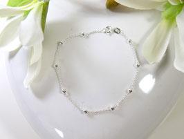 Kugelarmband 925er Silber 18,5 cm