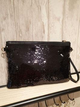 Handtas (zwart-zilver)13