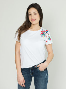 Camiseta Bordado