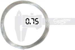 PMMA LICHTFASER – METERWARE 0,75 mm
