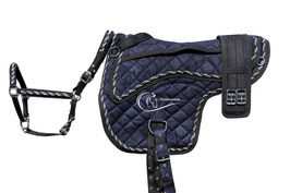 Luxe Barebackpad set - Blau