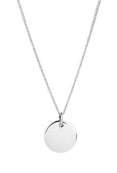 Halskette Round Tag (1 mm)