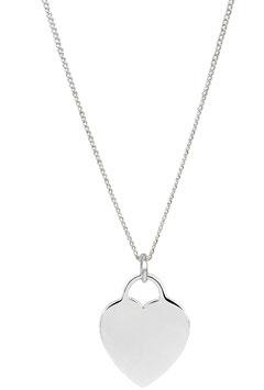 Halskette Flat Heart ( 1 mm)