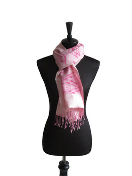 Seidenschal | Seidentuch Rosa Pink