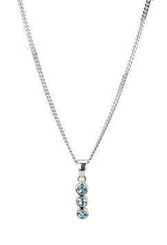Halskette Blue Zirconia (1,5 mm)