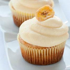 Cucpcakes de Banana