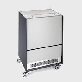 Möbelkühler Alu Rille Standard