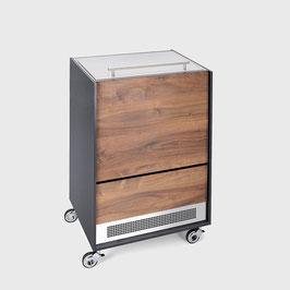 Möbelkühler Holznussbaum Standard