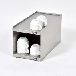 Tassenwärmer-Aufsatzmodul Edelstahl