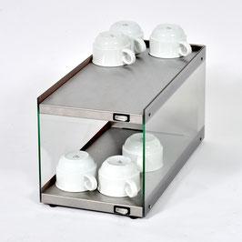 Tassenwärmer-Aufsatzmodul Glas