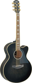 YAMAHA CPX1000 Translucent Black Westerngitarre mit Tonabnehmer