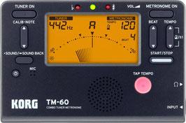 KORG TM-60 BK Tuner & Metronom