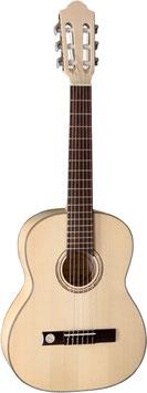 PRO NATURA Silver 1/2 Konzertgitarre (Kindergitarre)