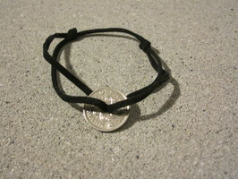 Bracelet pièce trouée