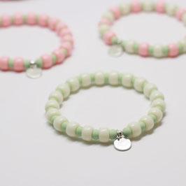 Armband Candyclub Vanille/Mint