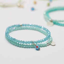 Armband Aqua Light Blue