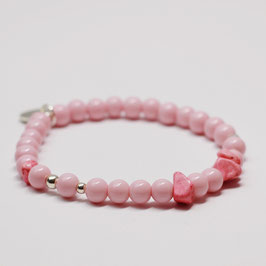 Armband Drops Blossom Pink
