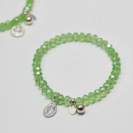Armband Green Kristall