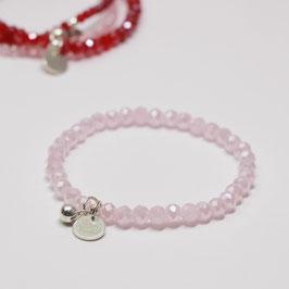 Armband Pink Opal Shining