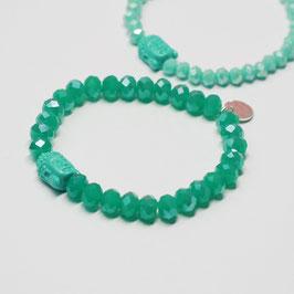 Armband Shiva Green