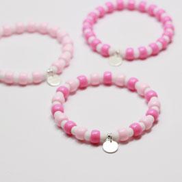 Armband Candyclub Rosa/Pink