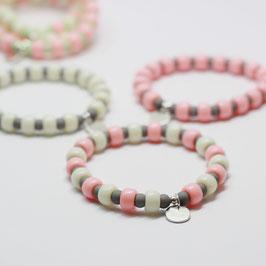 Armband Candyclub Vanille/Peach