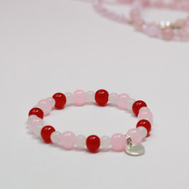 Armband Drops Red