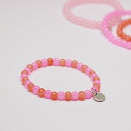 Armband Drops Pink/Orange 1