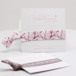 Bändchen Kirschblüte Weiß
