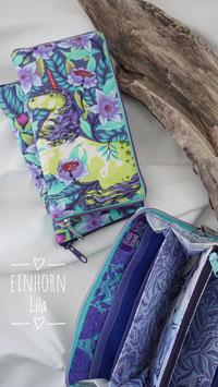 Geldbörse - Einhorn Violett