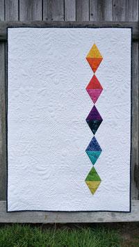 Babyquilt / Kniedecke - Rainbow Diamond