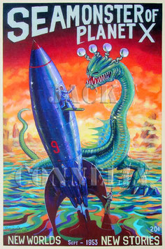 Sea Monster of Planet X