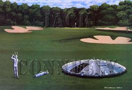The UFO Golfer