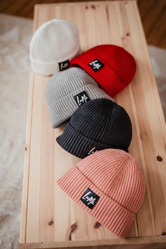 Mommy / Daddy / Kids Strick-Beanie RIBBED