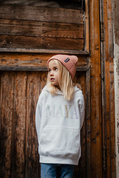KIDS HOODIE *CANDY LETTERING*