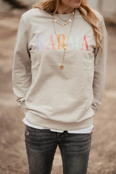 UPGRADE CANDY LETTERING SWEATER