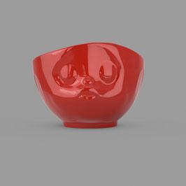 Schale küssend rot